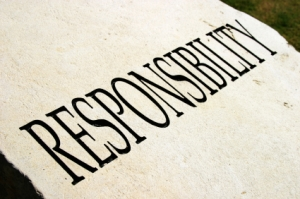 Character traits series - RESPONSIBILITY